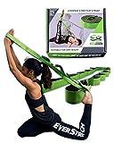 EverStretch Stretching Strap with Loops - non si allunga - non elastico - Muoviti liberamente con questa fascia Premium Loop Strap Stretch - Yoga, fisioterapia, ginnastica e altro ancora
