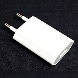 Storite USB Mains Plug Power Adapter - White FOR IPHONE / IPAD / HTC / BLACKBERRY/ SAMSUNG / MP3/ TOMTOM /IPOD
