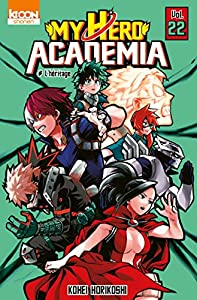 My Hero Academia Edition simple Tome 22
