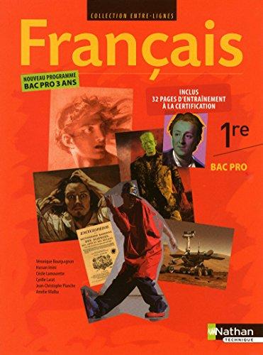 Français - 1re Bac Pro