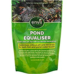 Envii Pond Equaliser - Instantly Creates and Stabalises Safe pH, KH and GH Levels to Make Perfect Pond Environment