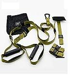 ginkago Pro Schlingentrainer, Suspension Trainer Fitness Sling Trainer Set mit Türanker für Ganzkörpertraining Zuhause oder im Fitnessstudio