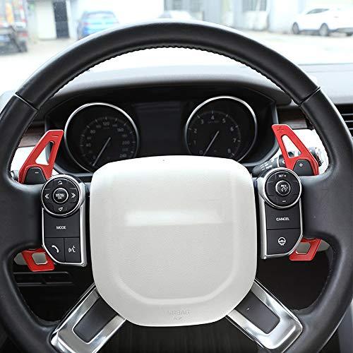 Car Steering Wheel Gear Shift Paddles Trim Aluminum Alloy Accessories 2pcs -