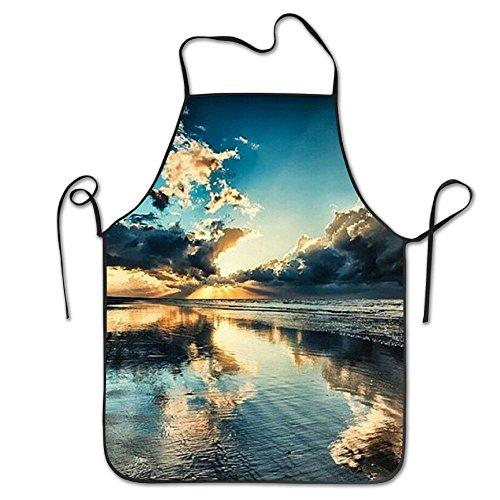 rafie Ocean Schürze, Unisex Küche Lätzchen Schürze mit Verstellbarem Hals für Kochen Backen gardening-28* 53,3cm (Genial Kostüme Für Frauen)
