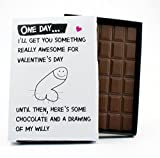 Valentines Day Novelty Chocolate Gift Bar for Wife...