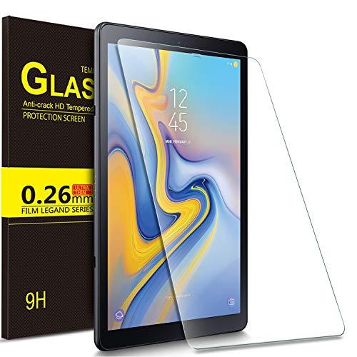 IVSO Bildschirmschutz für Samsung Galaxy Tab A 10.5 SM-T590/T595, 9H Härte, 2.5D, Bildschirmfolie Schutzglas Bildschirmschutz Für Samsung Galaxy Tab A SM-T590/SM-T595 10.5 Zoll 2018, (1 x)