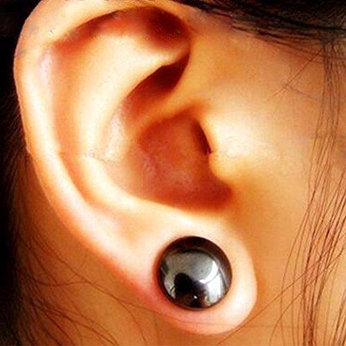 Bio Magnetic Healthcare Ohrring Gewichtsverlust Ohrringe Abnehmen Ohr Gesunde Stimulierende Akupunkturpunkte Ohrstecker Magnetfeldtherapie (2 pair)