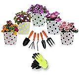 #8: TrustBasket Grow Bag and Garden Tools Kit