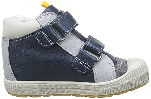 babybotte Jungen Atipik Klettverschluss Sneaker Blau - Bleu (125 Navy)