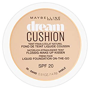 Maybelline Dream Cushion Liquid Foundation, 30 ml, Number 30, Sand