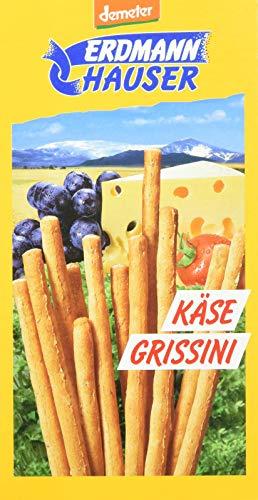 Erdmann Hauser Bio Käse Grissini, 7er Pack (7 x 100 g) (Bio-käse)