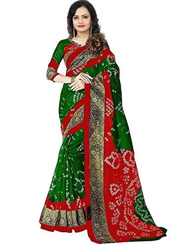 UddanCreation Bollywood Pakistani Designer Cotton Silk Saree Indian Kanchipuram Traditional Sari Lengha -
