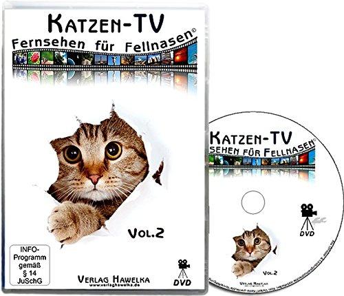 Katzen-TV - Fernsehen für Fellnasen, 1 DVD-Video