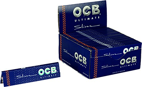 CARTINE OCB ULTIMATE SLIM KING SIZE 1 BOX 50 LIBRETTI
