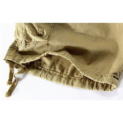 Herren Cargo Shorts Bermuda Hose Urban Vintage Legend Kurze 3/4 Sommer Airborne Knielänge Outdoor #4