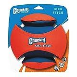 Chuckit! CU251201 Kick Fetch, Hundespielzeug zu verfolgen, Hund Fußball, L