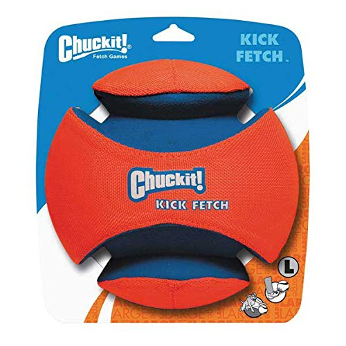 Chuckit CHUC031 Hundespielzeug Kick Fetch, L, 19 cm