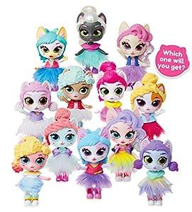 Kitten Catfé Purrista Girls Muñeca Figuras Series #1 - 12 Diferentes Purrista niñas para coleccionar. Cada uno Viene Individualmente Ciego empaquetado en su Propia Taza de café, Que uno recibirá.