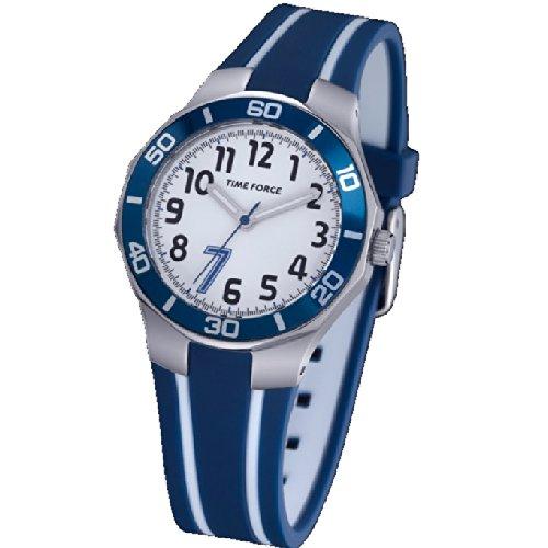 time-force-reloj-de-pulsera-tf-3386b02-cadete-acero-50m-cristiano-ronaldo-azul