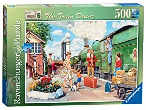 Ravensburger Happy Days at Work The Train Driver Puzzle (500 Pieces)