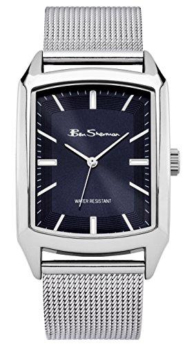 ben-sherman-bs136-reloj-de-cuarzo-para-hombres-con-esfera-azul-y-correa-plateada-de-acero-inoxidable
