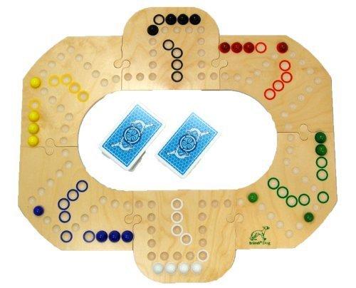Brändi Dog - das Kultspiel aus der Schweiz für 6 Spieler -