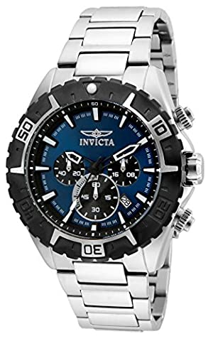 INVICTA Men's Watch (Acciaio Inossidabile Throttle)