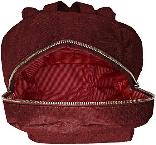 herschel Settlement Backpack black Winetasting Crosshatch (Rot)