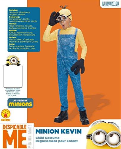 Imagen de rubie 's official despicable me universal studios minion kevin, niño disfraz–grande alternativa