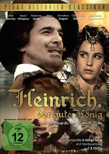 Pidax Historien-Klassiker: Heinrich, der gute König [3 DVDs]