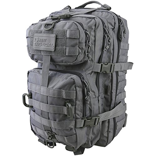 Kombat UK hex-tac Reaper Pack Einheitsgröße Gun Metal grau - Aqua Hydration Pack