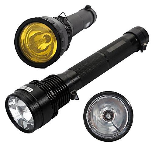 AGM® Torcia HID Xenon 8500 Lumens 85 Watt portata fino