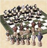 Herr der Ringe Schachfiguren (handbemalt)