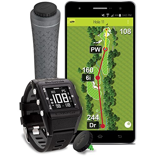 Skycaddie Linx GT Golf GPS Watch with SmartTags Game Tracking Edition - Black