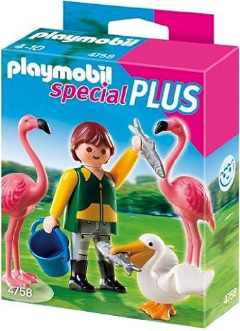 PLAYMOBIL 4758 - Tierpfleger mit exotischen
