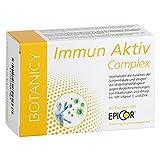 IMMUN AKTIV Complex mit EpiCor® - Stoppt Erkältung, Grippe, Schnupfen und Allergien - sofortige und vorbeugende Wirkung - Natürliches Mittel zur Stärkung des Immunsystems - 60 Kapseln (Monatspack)
