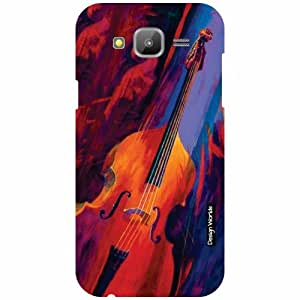 Design Worlds Back Cover For Samsung Galaxy J5 - Multicolor
