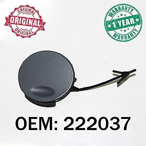 Black Tow Hook Cover Eye Cap Insert Rear Bumper For Opel Vauxhall Insignia 08 222037