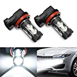 Best Fog Lights - LED Fog Light Bulbs H11, AMBOTHER Extremely Bright Review