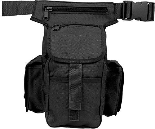 Multi Pack Bein oder Hüfttasche 3 Farben zur Auswahl Schwarz OneSize