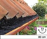 Dachrinnenbürste speziell für Kupferdachrinnen, 80cm Ø 12cm, direkt vom Hersteller