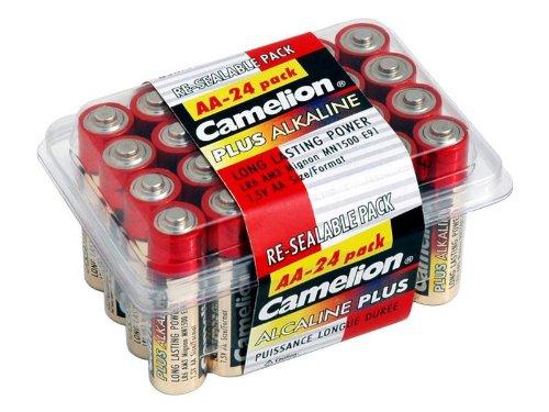 Batterie Camelion Alkaline LR6 Mignon AA (Box 24 St.) Camelion Alkaline-batterien