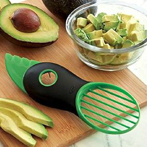 Foto de Cortador plástico para frutas multifuncional de clip redondo