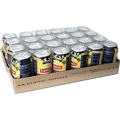 Lipton Ice Tea 'Sparkling Zero' 24 x 0,33l Dose (Eistee)