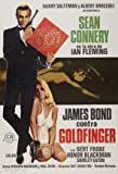 GOLDFINGER - JAMES BOND - Sean Connery – Spanish Imported Movie Wall Poster Print - 30CM X 43CM Brand New 007