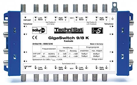 TechniSat GigaSwitch 9/8 K multi-switch