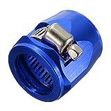 YONGYAO An4 Tubo Fine Finisher Olio Combustibile Acqua Tubo Giubileo Clip Morsetto-Blu