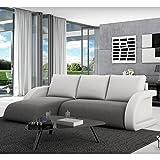 Innocent Sofa mit Schlaffunktion Textil und Kissen aus Kunstleder Anantara