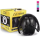 Pro For Sho 34dB Safety Ear Protection - Special Designed Ear Muffs Lighter