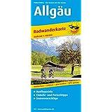 Radwanderkarte Allgäu: Mit Ausflugszielen, Einkehr- & Freizeittipps, reissfest, wetterfest, abwischbar, GPS-genau. 1:100000